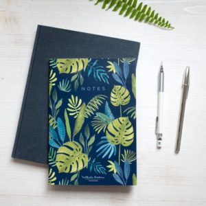 Bullet journal Dark Jungle A5 Nathalie Ouederni Pequeños Placeres