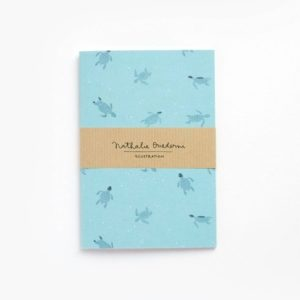 Notebook Baby Turtle A6 by Nathalie Ouederni para Pequeños Placeres