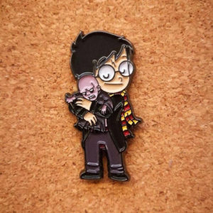 Pins Villanos adorables: Harry Potter y Voldemort - Pequeños Placeres