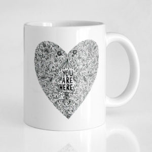 Taza You are here - Pequeños Placeres