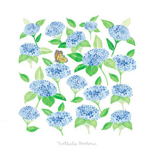 Simple Card Hortensia - Pequeños Placeres