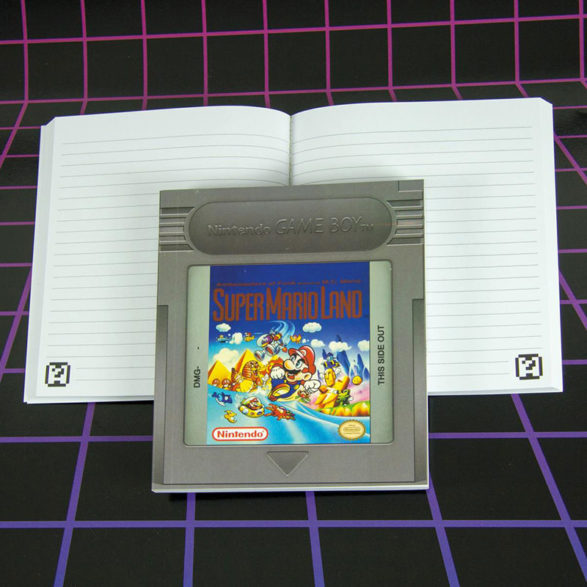 Libreta cartucho Super Mario Land de la Game Boy - Pequeños Placeres