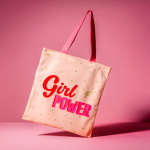 Tote bag Girl Power - Regalos Pequeños Placeres
