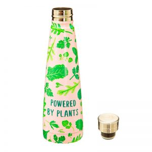 Botella reutilizable eco vegano Powered by plants - Pequeños Placeres (Sass & Belle)