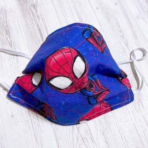 Mascarillas homologadas reutilizables UNE 0065/2020 infantiles Superhéroes Spiderman