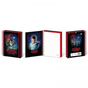 Cuaderno Stranger Thing oficial Netflix - Pequeños Placeres